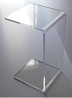Amazoncom Acrylic Coffee Waterfall Table Lucite Long X X - Acrylic coffee table