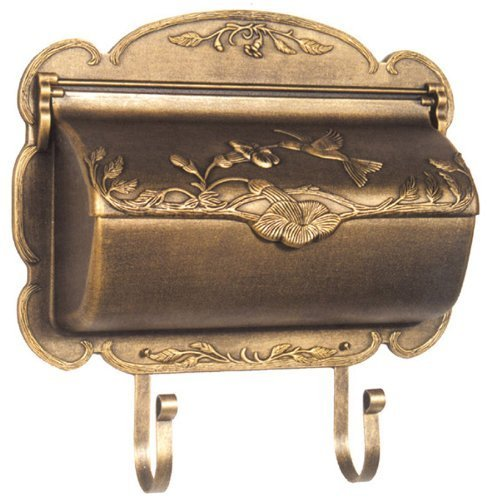 - Special Lite Products SHB-1004-BR Hummingbird Horizontal Mailbox, Bronze by