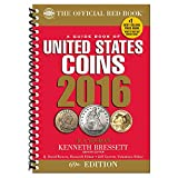 A Guide Book of United States Coins 2016 (Spiral-bound)