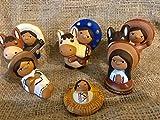 Nativity Scene.Mexican Style.