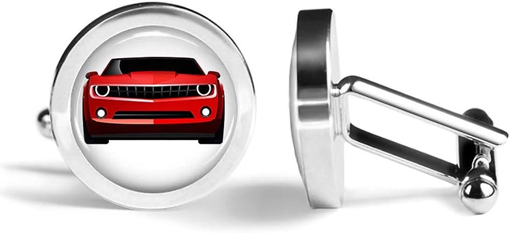 Oakmont Cufflinks American Sports Car Cufflinks Muscle Car Cuff Links Angled Edition