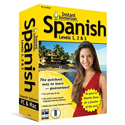 (2011 Version) Instant Immersion Spanish Levels 1, 2 and 3