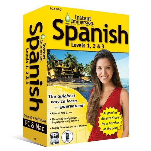 Price comparison product image (2011 Version) Instant Immersion Spanish Levels 1,  2 and 3