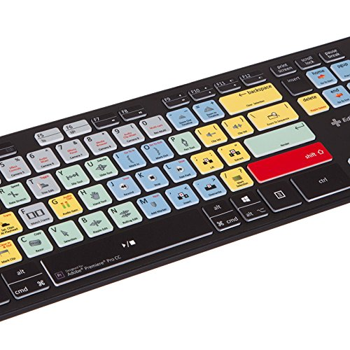 Adobe Premiere Keyboard - USB Shortcut Video Editing Keyboard for PC (Works on Mac Too)