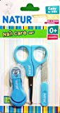 Natur Nail Clippers Set with Scissors and