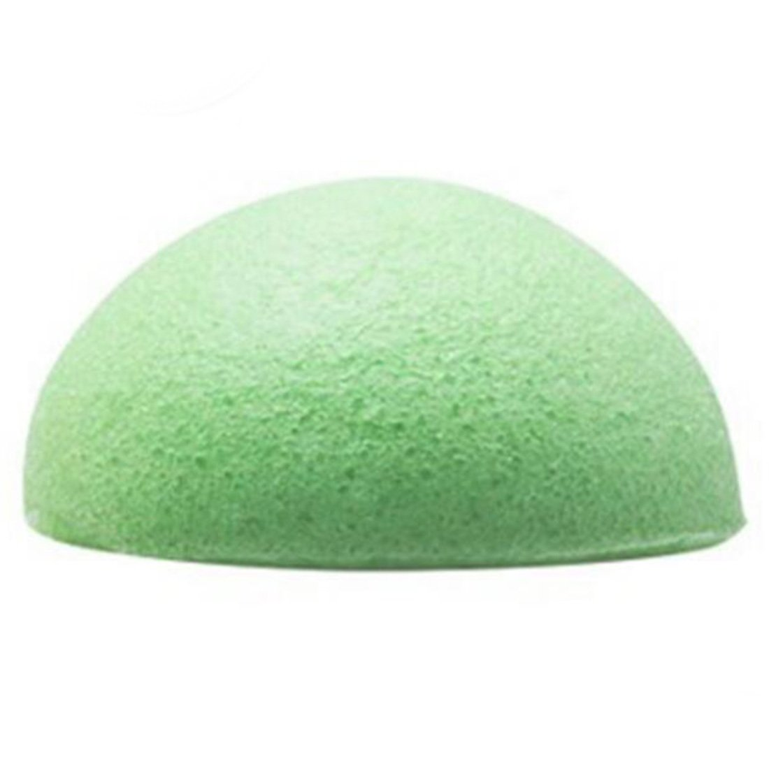 Green Comfortable Cleanser Puff Natural Konjac Konnyaku Facial Puff Face Wash Cleansing Sponge