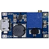 5 Pcs DC-DC Boost Converter Step-up Voltage Regulator Voltage Stabilizer Adjustable Power Supply DC 2-24V To 5V 9V 12V 24V 2A With Micro USB Input