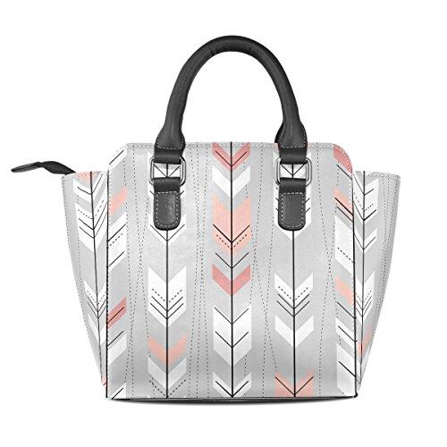 Tote TIZORAX Shoulder TIZORAX Arrow Bags Tribal Tote Leather Shoulder Bags Women's Handbags Leather Arrow Women's Tribal qw0BW