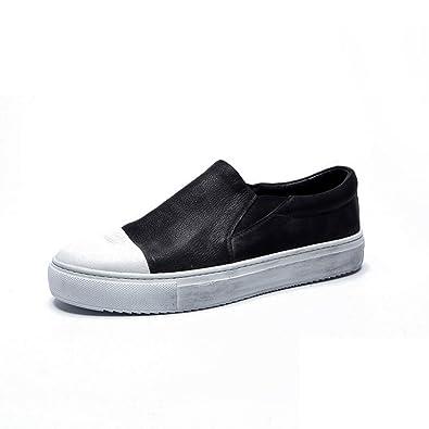 Cepille vintage zapato viejo/Lok Fu zapatos del mosaico del/ banda elástica zapatos casual-A Longitud del pie=26.3CM(10.4Inch) h6HYp