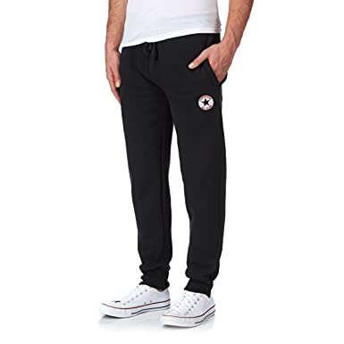 black converse tracksuit bottoms