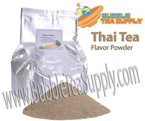 BEST-SELLING BUBBLE TEA SUPPLY INSTANT THAI TEA SMOOTHIE FLAVORED POWDER BOBA BUBBLE DRINK PREMIUM AWARD WINNING CUSTOMERS #1 CHOICE 50 SERVINGS (INSTANT THAI TEA BUBBLE TEA POWDER) by NEPTUNE ICE