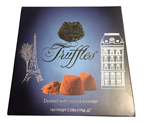 Truffettes de France Truffles - Dusted with Cocoa Powder (1-pack (2.2 pounds, 1 kg))