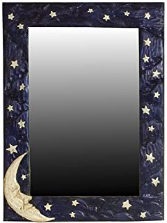 product image for Piazza Pisano Art by Al Pisano Moon Celestial Wall Mirror
