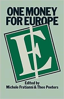 Como Descargar Con Utorrent One Money For Europe Kindle A PDF