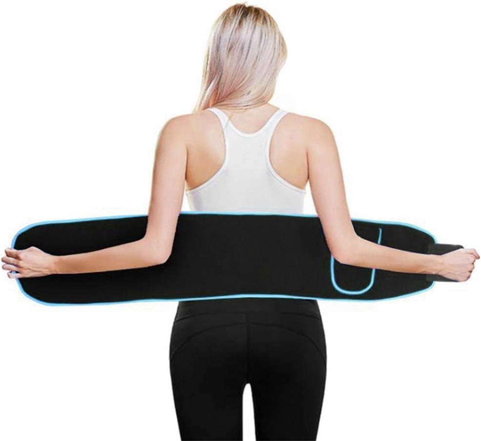 Ceinture de Sudation pour Homme et Femme Ceinture Abdominale Respirant Taille Soutien Protecteur Running Sports Fitness Ceinture Taille Trainer