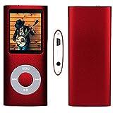 G.G.Martinsen Red 16 G Mini Usb Port Slim Small Multi-lingual Selection 1.78 LCD Portable MP3/MP4, MP3Player , MP4 Player , Video Player , Music Player , Media Player , Audio Player