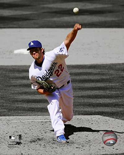 Los Angeles Dodgers Clayton Kershaw 8x10 Action Photo Picture