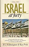 Israel at Forty, Harold L. Willmington and Ray Pritz, 0842318011