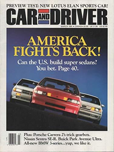 (Car and Driver Magazine, March 1991 (Vol 36, No. 9))