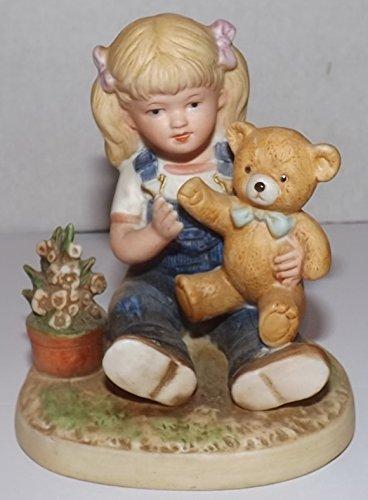 Denim Days Figurine - Denim Days Debbie with Teddy Bear # 1504