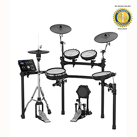 Roland TD-25K V-Drums Electronic Drum Set with 1 Year Free Extended Warranty (Roland Electronic V Drums)