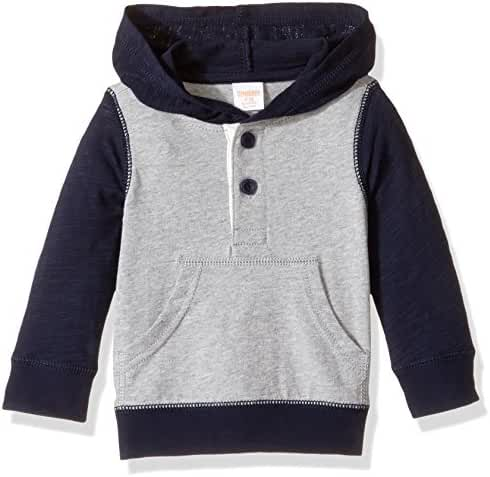 Gymboree Baby Toddler Boys' Hooded Henley Tee
