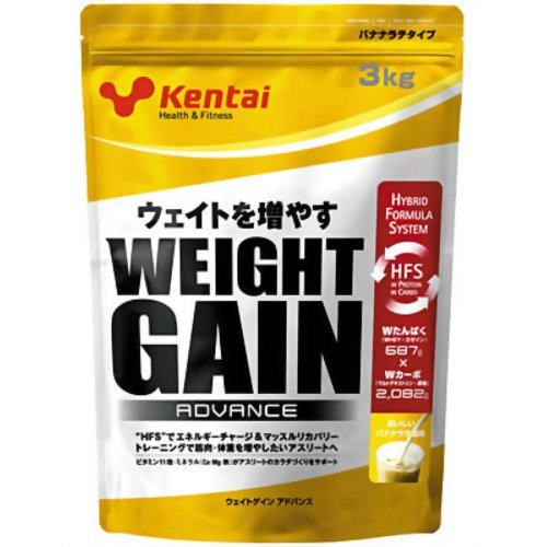 Kentai(ケンタイ) ウェイトゲインアドバンス バナナラテ風味 3kg B003Q46Y6Q