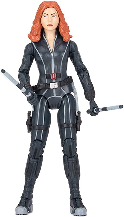Marvel leggende Black Widow origini MORTALE 6 pollici Action Figure Nuovo