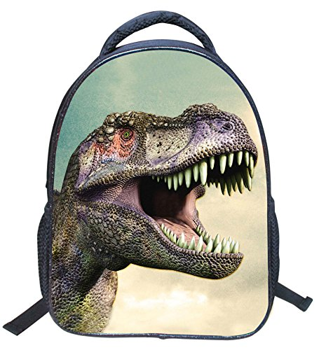 3D Dinosaur Printed Kids Backpack Toddler Waterproof School Bags for Kindergarten Dinosaur1