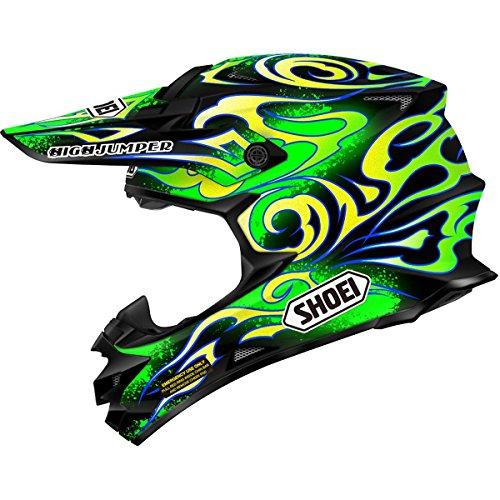 Motorcycle Helmet Mouthpiece - Shoei W Taka VFX-W Off-Road Bike Motorcycle Helmet - TC-4 / Large