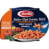Barilla Italian Entrees, Meat Sauce Gemelli, 9 Ounce (Pack of 6)
