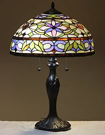 Tiffany Style Stained Glass Table Lamp Quot Adagio Quot Floor