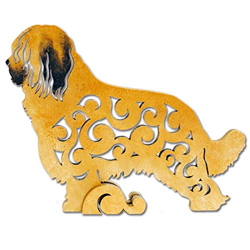 - Briard dog figurine, dog statue made of wood (MDF), statuette hand-painted