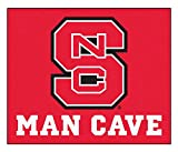 Fan Mats 14578 North Carolina State University Wolfpack 5' x 6' Man Cave Tailgater Mat