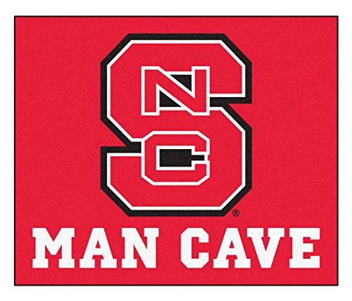Fan Mats 14578 North Carolina State University Wolfpack 5' x 6' Man Cave Tailgater Mat by Fanmats