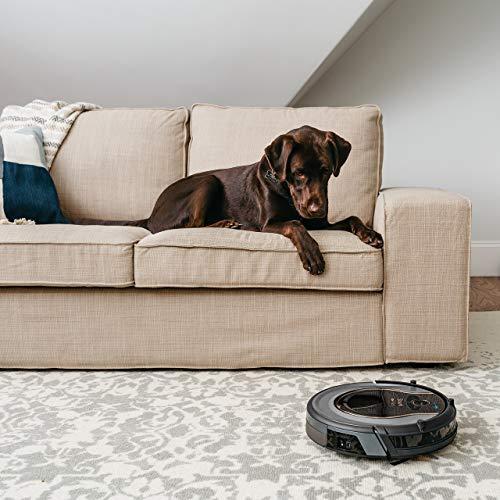 WIFI-Connected, Control Robotic Vacuum Carpet Hard with Alexa