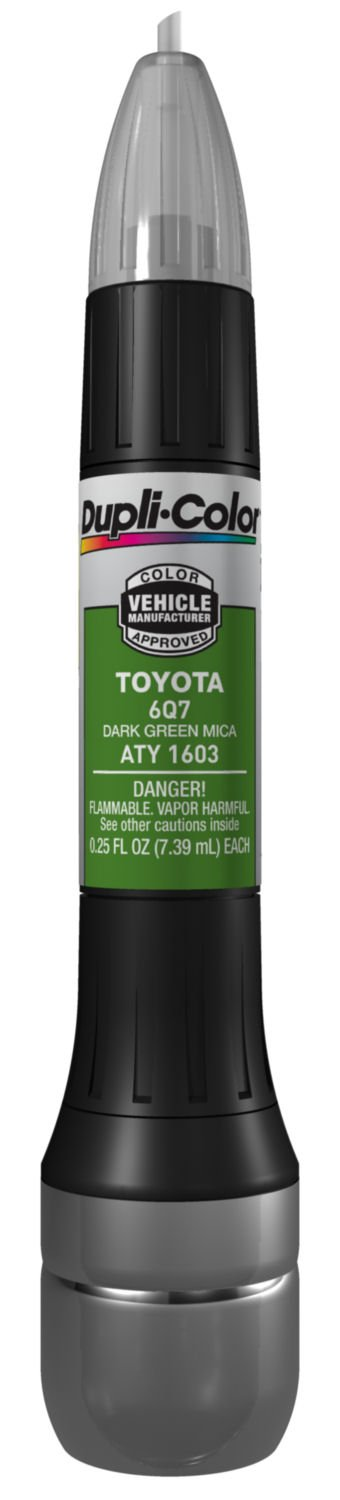 Amazon.com: Dupli-Color ATY1603 Dark Green Mica Toyota Exact-Match ...