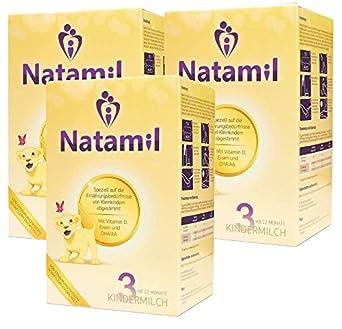 Natamil 3 - Kindermilchnahrung - ab dem 12. Monat - 3er Pack (3 x 800 g)
