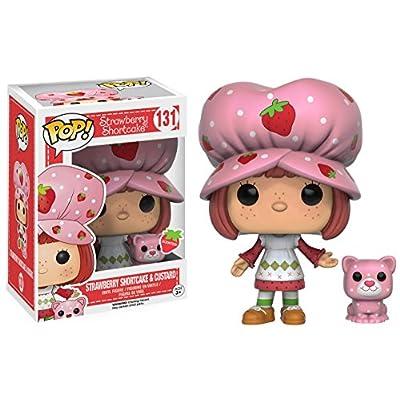 Funko POP Animation: Strawberry Shortcake - Strawberry Shortcake & Custard Action Figure: Funko Pop! Animation:: Toys & Games