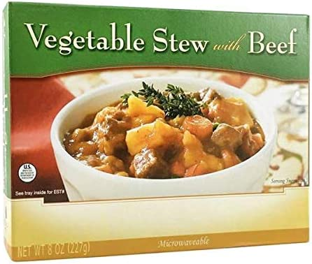 Bariatricpal Microwavable Single Serve Protein Entree - Vegetable Stew mit Beef