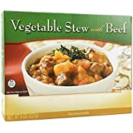 BariatricPal Microwavable Single Serve Protein Entree - Vegetable Stew with Beef