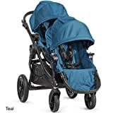 Baby Jogger City Select Stroller Black Frame WITH Second Seat (Teal) 2014