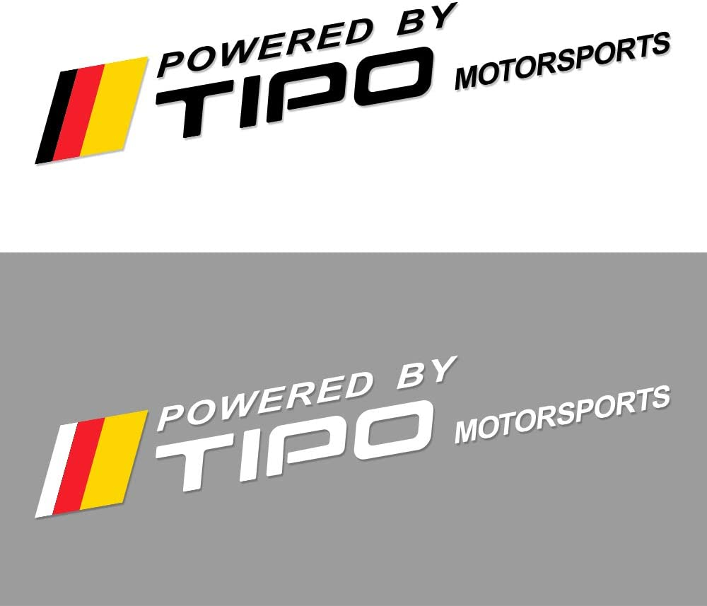 MYlnb F/ür FIAT Tipo 2PCS Car Styling Grafische Vinyl-Aufkleber Reflektierende T/ür Seitenaufkleber Auto Body Decor Captivation Autozubeh/ör