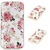 Moto X Play Case,Gift_Source Slim Fit [Drop Protection] [Shock Absorbent] Premium Flexible Soft TPU Slim Silicone Protective Bumper Case for Motorola Moto X Play [Peony]