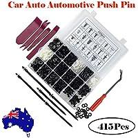 BESPORTBLE 415 Pcs Push Pins Practical Durable Plastic Pin Clips Rivet Clips Car Push Type Bumper Fastener for Truck Sedan Suv