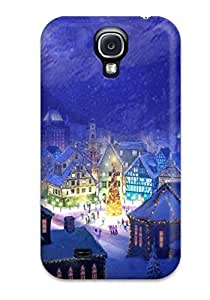 Belva R. Fredette's Shop New Style Snap On Case Cover Skin For Galaxy S4(christmas Village Square) 8108767K73927546