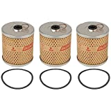 APN18649B New Tractor Oil Filter Tri-Pack (Set of 3) Made to Fit Ford 2N 8N 9N +