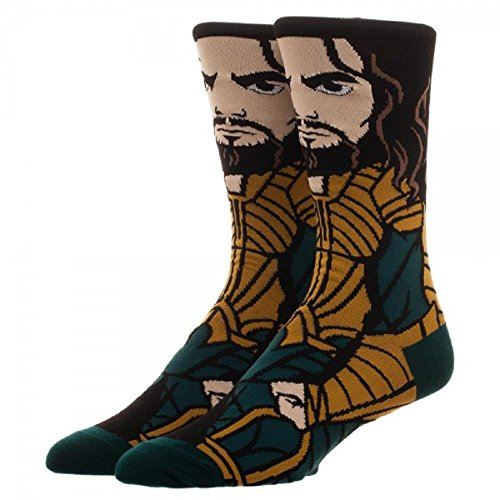 DC Comics Justice League Aquaman 360 Crew Socks