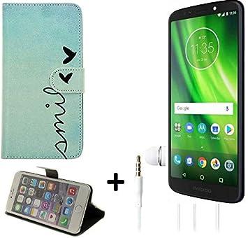 K-S-Trade 360° Funda Smartphone Compatible con Motorola Moto G6 ...