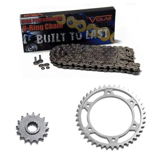 - 2007-2016 Honda CBR600RR O-Ring Chain and Sprocket Kit - Nickel